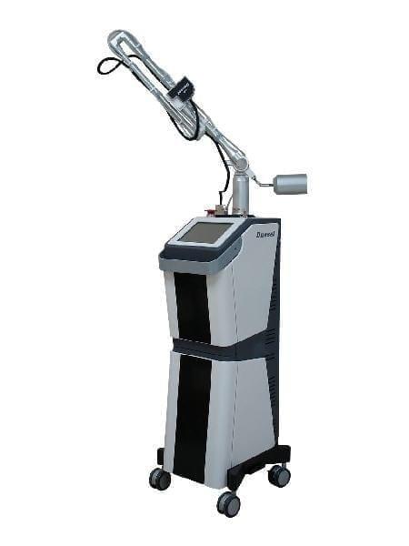 Dermatological laser / for skin rejuvenation / CO2 / on trolley